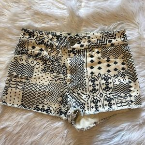 Bullhead Denim Co. Shorts Juniors Size 3 High Rise